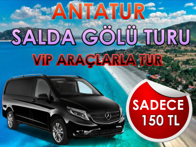 Antalya Çıkışlı Salda Gölü Turu