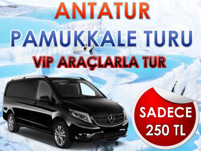 Antalya Çıkışlı Pamukkale Turu